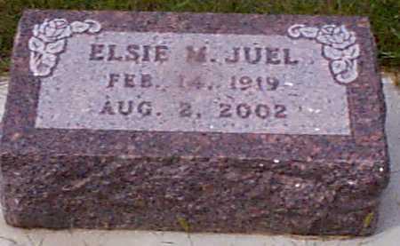 JOHANSEN JUEL, ELSIE M - Audubon County, Iowa | ELSIE M JOHANSEN JUEL
