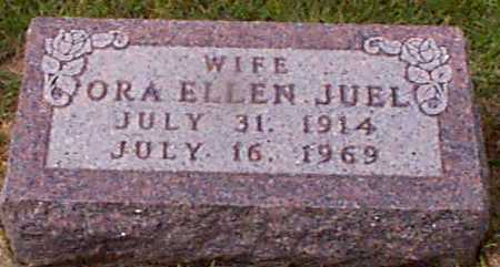 JUEL, ORA ELLEN - Audubon County, Iowa | ORA ELLEN JUEL
