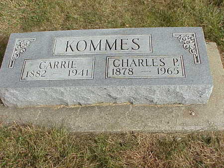KOMMES, CARRIE - Audubon County, Iowa | CARRIE KOMMES