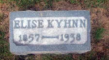 KYHNN, ELSIE - Audubon County, Iowa | ELSIE KYHNN