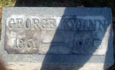 KYHNN, GEORGE - Audubon County, Iowa | GEORGE KYHNN