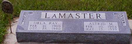 LAMASTER, ORLA RAY - Audubon County, Iowa | ORLA RAY LAMASTER