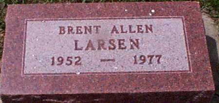 LARSEN, BRENT ALLEN - Audubon County, Iowa | BRENT ALLEN LARSEN