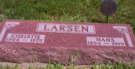 LARSEN, HANS - Audubon County, Iowa | HANS LARSEN