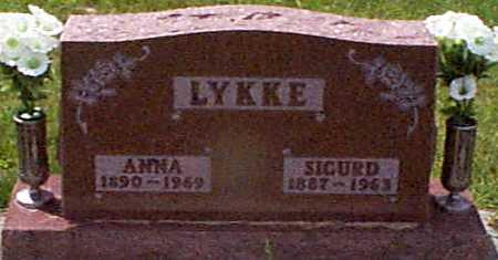 LYKKE, ANNA - Audubon County, Iowa | ANNA LYKKE