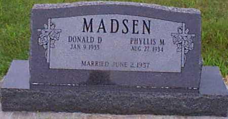 MADSEN, DONALD D - Audubon County, Iowa | DONALD D MADSEN