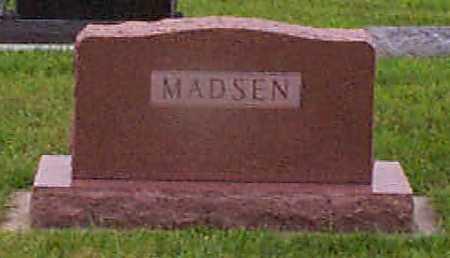 MADSEN, JENS CHRISTAIN - Audubon County, Iowa | JENS CHRISTAIN MADSEN
