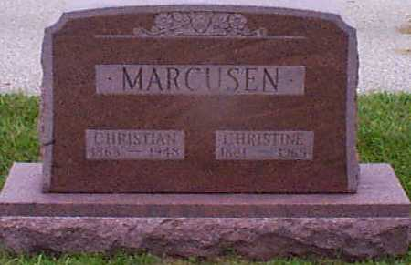 BYRIEL MARCUSEN, CHRISTINE M - Audubon County, Iowa | CHRISTINE M BYRIEL MARCUSEN