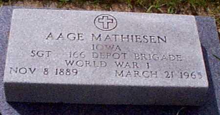 MATHIASEN, AAGE - Audubon County, Iowa | AAGE MATHIASEN