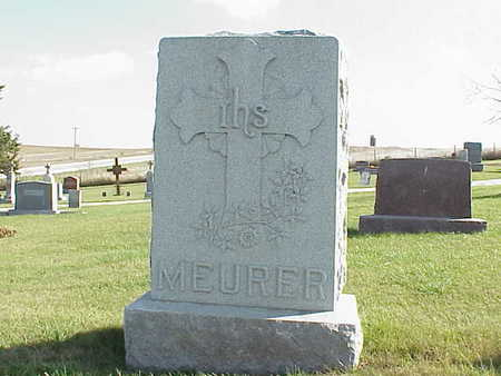 MEURER, ANTHONY - Audubon County, Iowa | ANTHONY MEURER
