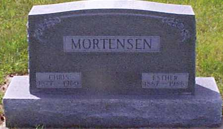 MORTENSEN, ESTHER - Audubon County, Iowa | ESTHER MORTENSEN