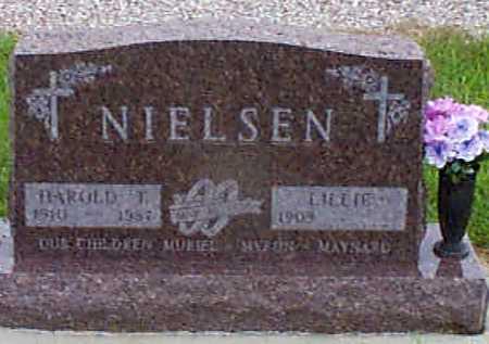 NIELSEN, HAROLD THORVALD - Audubon County, Iowa | HAROLD THORVALD NIELSEN