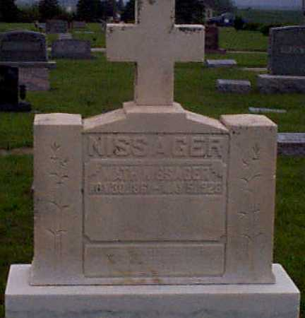 NISSAGER, MATHIS - Audubon County, Iowa | MATHIS NISSAGER