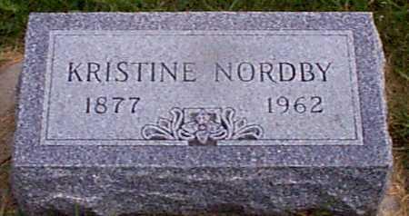 CHRISTENSEN NORDBY, KRISTINE - Audubon County, Iowa | KRISTINE CHRISTENSEN NORDBY