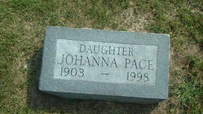 PACE, JOHANNA - Audubon County, Iowa | JOHANNA PACE