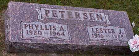 PETERSEN, PHYLLIS A - Audubon County, Iowa | PHYLLIS A PETERSEN
