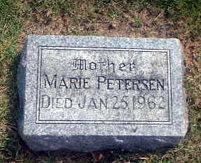 PETERSEN, MARIE - Audubon County, Iowa | MARIE PETERSEN