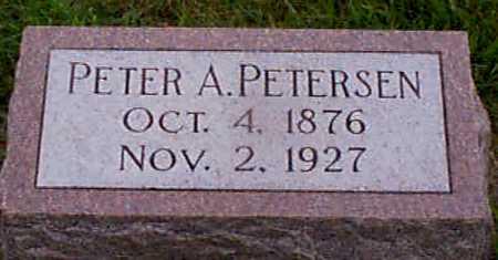 PETERSEN, PETER  A - Audubon County, Iowa | PETER  A PETERSEN