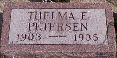 PETERSEN, THELMA E - Audubon County, Iowa | THELMA E PETERSEN