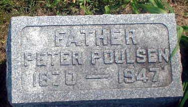 POULSEN, PETER - Audubon County, Iowa | PETER POULSEN