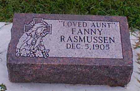 RASMUSSEN, FANNY - Audubon County, Iowa | FANNY RASMUSSEN
