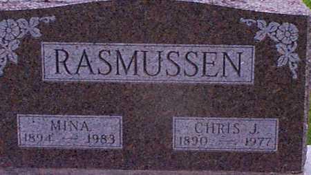 JEPPESEN RASMUSSEN, MINA - Audubon County, Iowa | MINA JEPPESEN RASMUSSEN