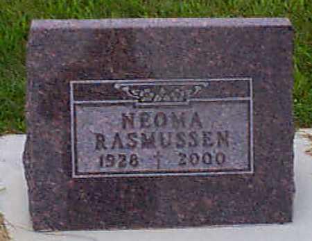 RASMUSSEN, NEOMA - Audubon County, Iowa | NEOMA RASMUSSEN