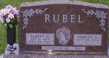 RUBEL, SHIRLEY A - Audubon County, Iowa | SHIRLEY A RUBEL