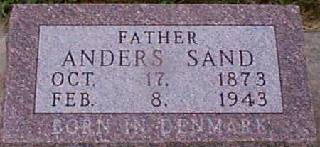 SAND, ANDERS - Audubon County, Iowa | ANDERS SAND
