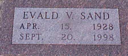 SAND, EVALD VESTERBECK - Audubon County, Iowa | EVALD VESTERBECK SAND