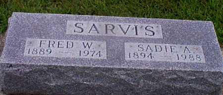 SARVIS, SARAH  ANN