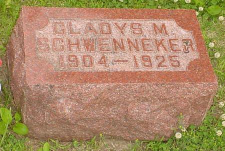 SCHWENNEKER, GLADYS M. - Audubon County, Iowa | GLADYS M. SCHWENNEKER