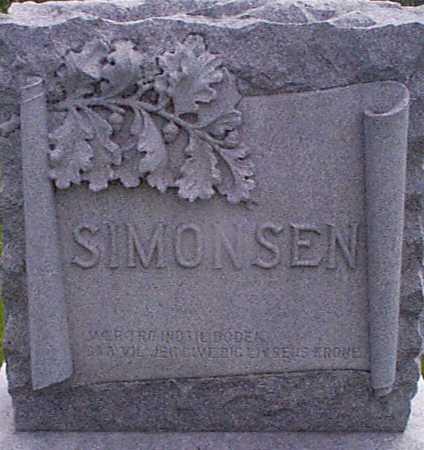 SIMONSEN, HANS K - Audubon County, Iowa | HANS K SIMONSEN