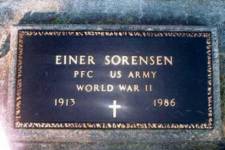 SORENSEN, EINER - Audubon County, Iowa | EINER SORENSEN