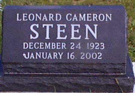 STEEN, LEONARD CAMERON - Audubon County, Iowa | LEONARD CAMERON STEEN