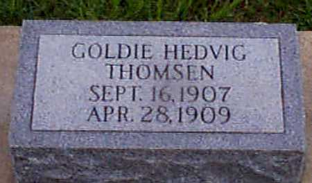 THOMSEN, GOLDIE HEDVIG - Audubon County, Iowa | GOLDIE HEDVIG THOMSEN