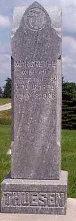 THUESEN, MARGRETHE - Audubon County, Iowa | MARGRETHE THUESEN
