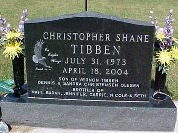 TIBBEN, CHRISTOPHER SHANE - Audubon County, Iowa | CHRISTOPHER SHANE TIBBEN