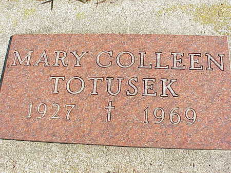 TOTUSEK, MARY COLLEEN - Audubon County, Iowa | MARY COLLEEN TOTUSEK