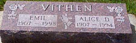 LARSEN VITHEN, ALICE D - Audubon County, Iowa | ALICE D LARSEN VITHEN
