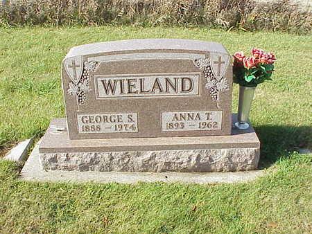 WIELAND, GEORGE S. - Audubon County, Iowa | GEORGE S. WIELAND