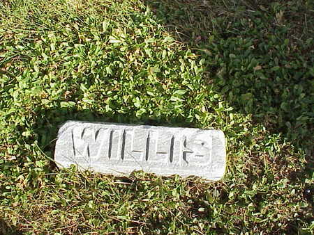 WILLIAMS, WILLIS - Audubon County, Iowa | WILLIS WILLIAMS
