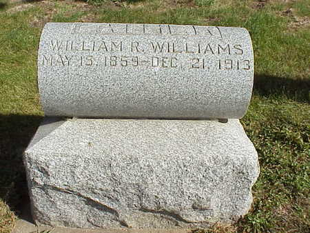WILLIAMS, WILLIAM R. - Audubon County, Iowa | WILLIAM R. WILLIAMS