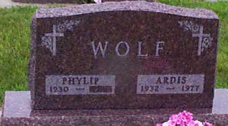 WOLF, PHYLIP - Audubon County, Iowa | PHYLIP WOLF