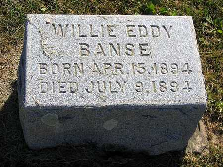 BANSE, WILLIE EDDY - Benton County, Iowa | WILLIE EDDY BANSE