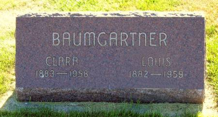 BAUMGARTNER, LOUIS - Benton County, Iowa | LOUIS BAUMGARTNER