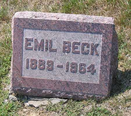 BECK, EMIL - Benton County, Iowa | EMIL BECK