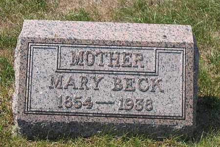 BECK, MARY - Benton County, Iowa | MARY BECK