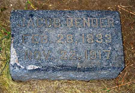 BENDER, JACOB - Benton County, Iowa | JACOB BENDER