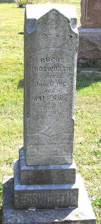 BOSWORTH, RUFUS - Benton County, Iowa | RUFUS BOSWORTH